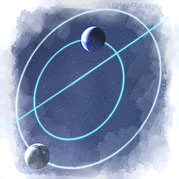 Twin planet orbital rings