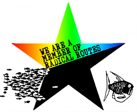 Radical Routes star and fishes