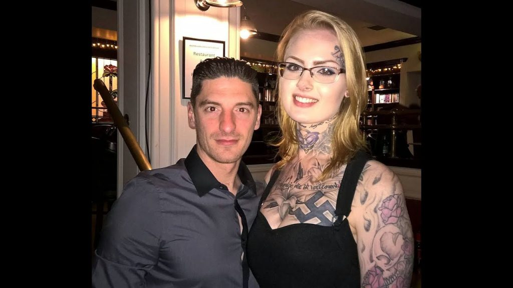 Mark Collett and his former partner Eva Van Housen
