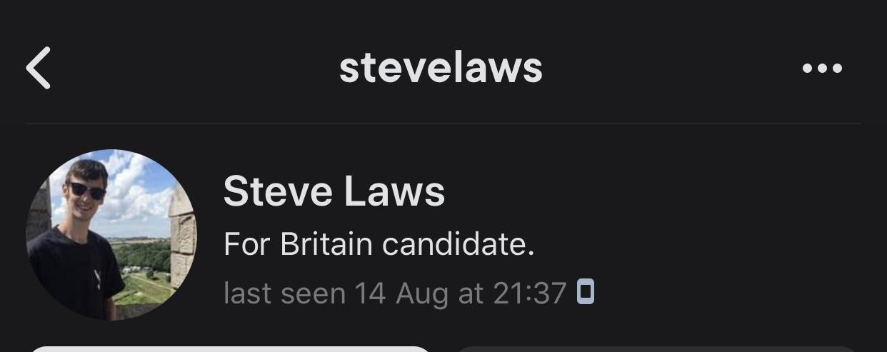 Steve Laws, fascist fake journalist.