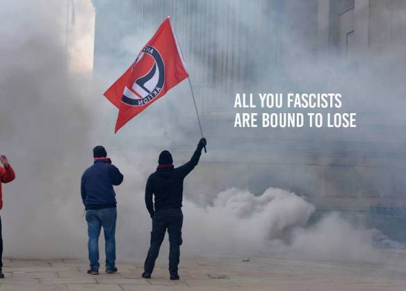 Infiltrating Patriotic Alternative and taking their banner