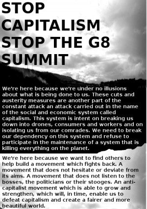 stop g8 flier