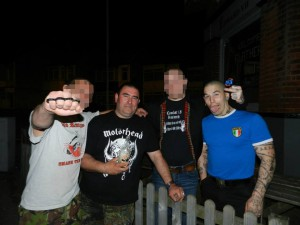 16. John Henderson with unknown fascists