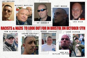 Some of the fascists (local or otherwise) likely to be about on Saturday