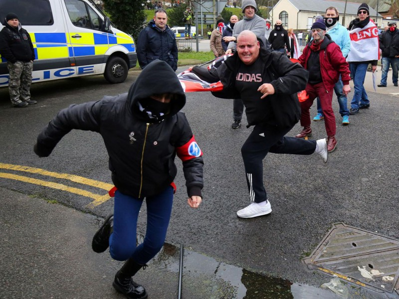 Fascist infighting in Dover