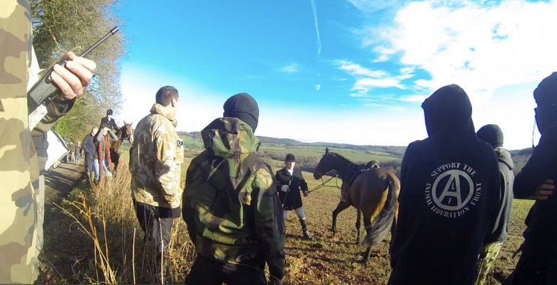 Curre and Llangibby hunt saboteurs