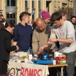 Food not Bombs at Occupy Birmingham