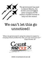Count Me Out 2011 A4 flyer