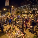 tribute to killed cyclist