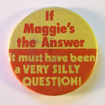 Thatcher not the answer badge