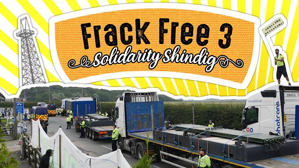 Frack Free Solidarity Shindig