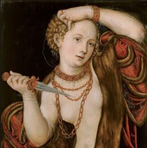 Lucrèce, Lucas Cranach (vers 1540-1545)