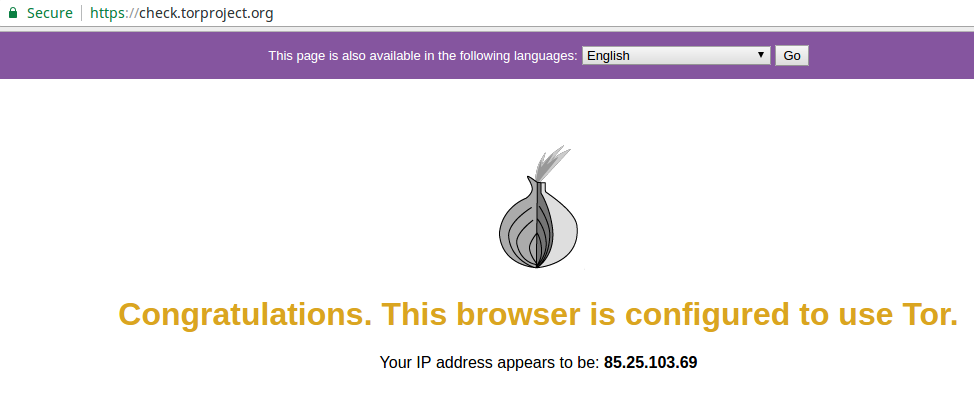Install Tor on Linux with Privoxy | nndiy