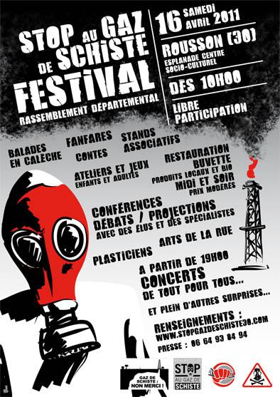 Affiche Rousson Festival