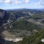 Autre vue Ardèche et montagnes au loin