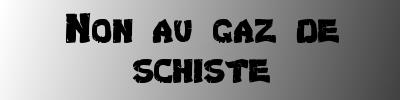 Logo Non au gaz de schiste400px @libre fan, CC-SA