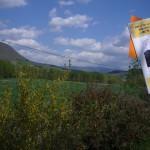 Nant - Paysage avec carton Libres-Ailé(e)s