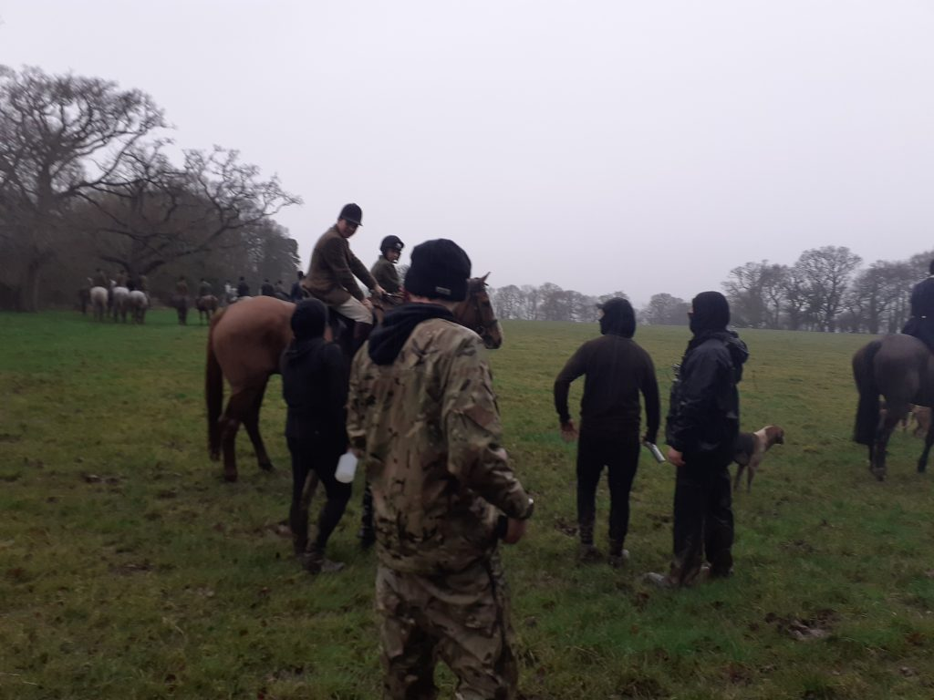 Flint and Denbigh hunt get sabbed