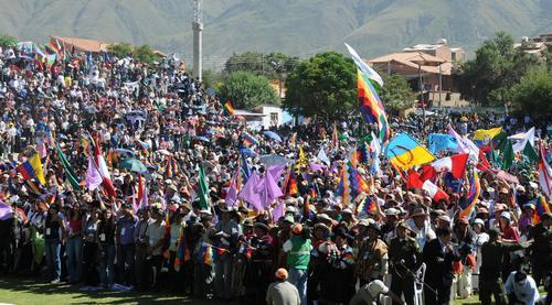 Dünya Halkları İklim Değişimi Konferansı, Bolivya.