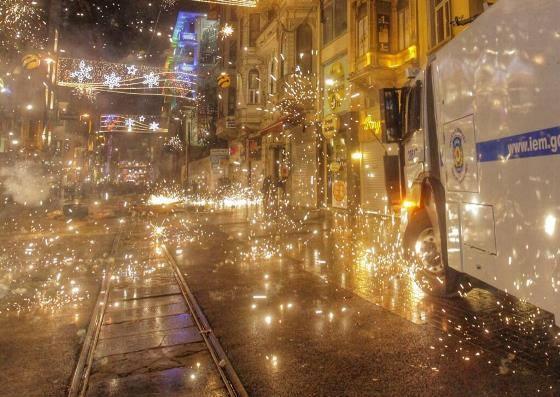 27 Aralık 2013, İstiklal Caddesi