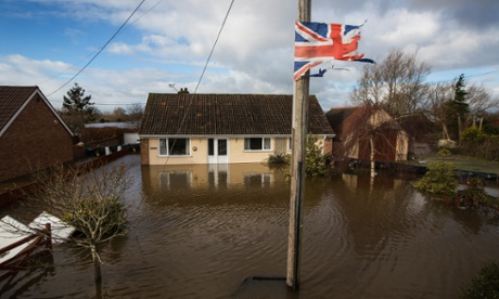 flood in somerset