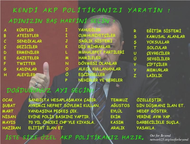 150125 Kisiye Özel AKP politikası