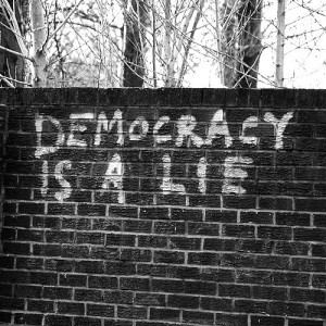 democracy is a lie