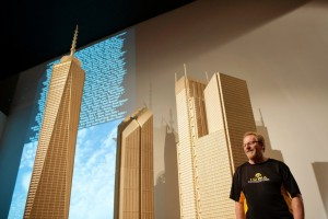 Matchstick world trade center - Pat Acton