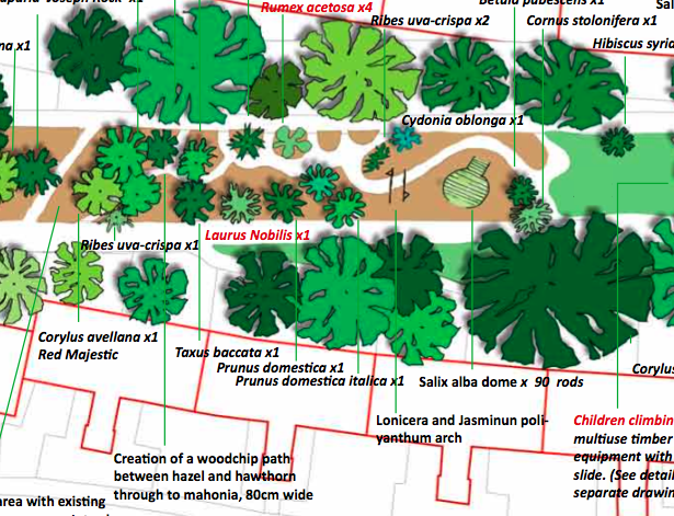 Here Is A Map And An Action Plan On Leaf St Which Should Be Useful In  Helping Us Do The Gardening.