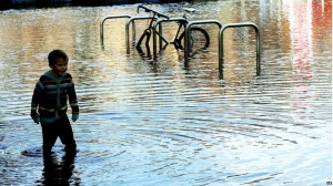 boy:bike-racks:flood