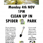 spider-park-litter-pick