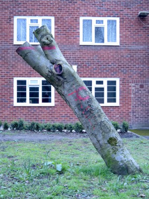 Hulme St Leaning Stump