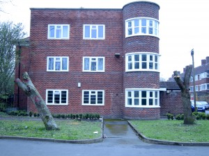 Stumps 2 & 3, on Hulme St. at the end of Leaf St./Hunmanby Ave.