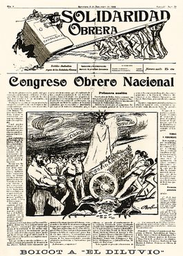 Solidaridad Obrera (Spanish for Workers' Solidarity) is a newspaper, published by the Catalonian/Balearic regional section of the anarchist labor union Confederación Nacional del Trabajo (CNT), and mouthpiece of the CNT in Spain