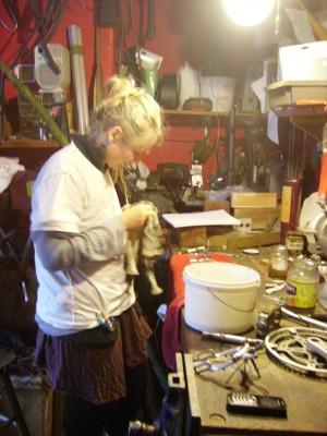 Women in the workshop