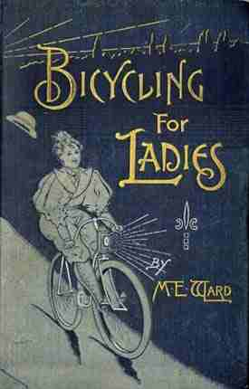 Bicycling-for-ladies magazine cover