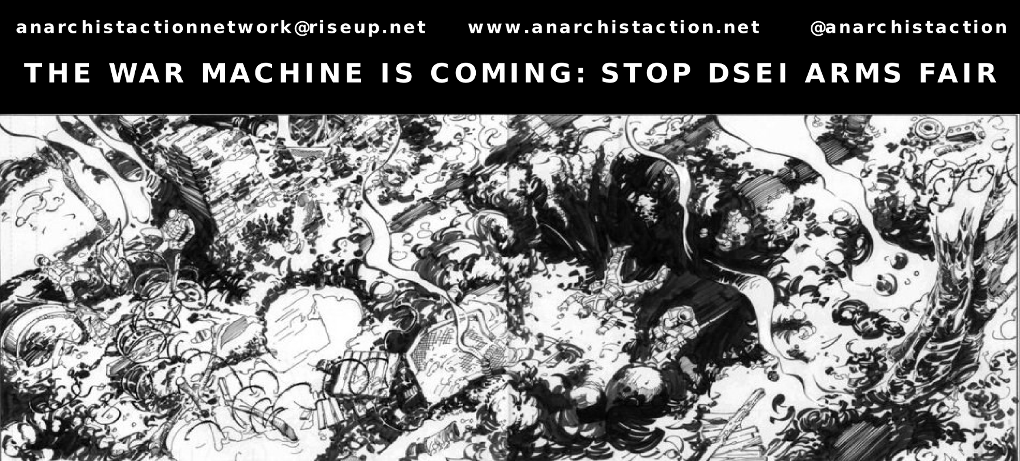 Anarchist Action Network: Stop DSEI Arms Fair