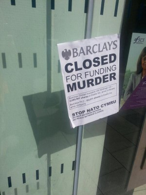 Barclays closed for funding Exelis/EDO amrs companies