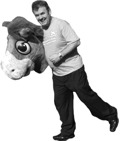 Does HorseWorld boss Mark Owen have the financial prowess of the back end of a panto horse? <i>Oh yes he does!</i>