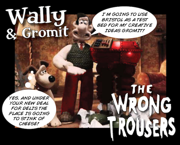 Oh no, Gromit - we've all gone crackers!
