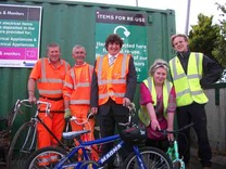 Giovanni Lopresti (centre) - former council waste manager 'recycles' himself into lucrative private sector job?