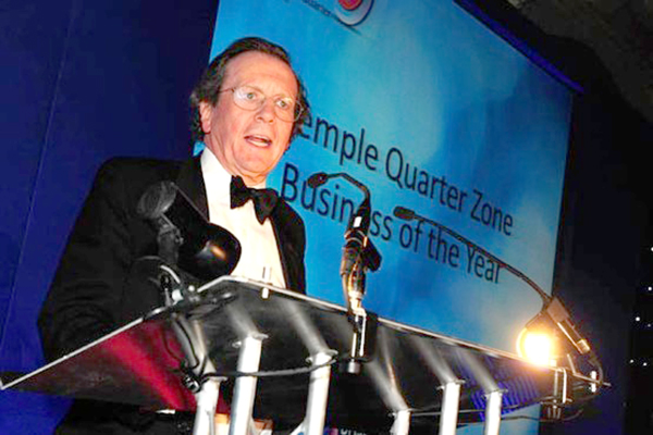 """I heard an envelope was being opened..."" Mayor Fergo pops up at the Post Business Awards"