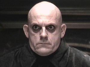 Uncle Fester from 'The Addams Family'