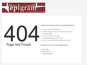 Epigram's HorseWorld article - TAKEN DOWN