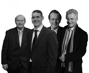 Parsons, Blundell, Ferguson & Cook: making the magic happen. But would you want them looking after your kids?