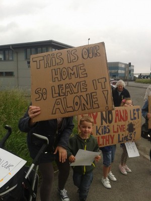 avonmouth protest