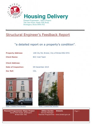 Completed Structural Report