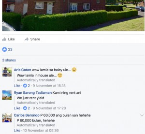 Landlords celebrate rent rise on Facebook ...
