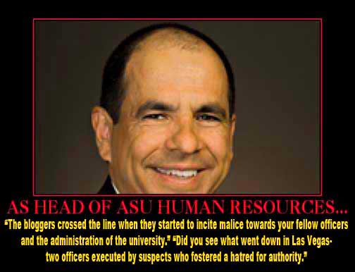 Kevin Salcido ASU head of human resources