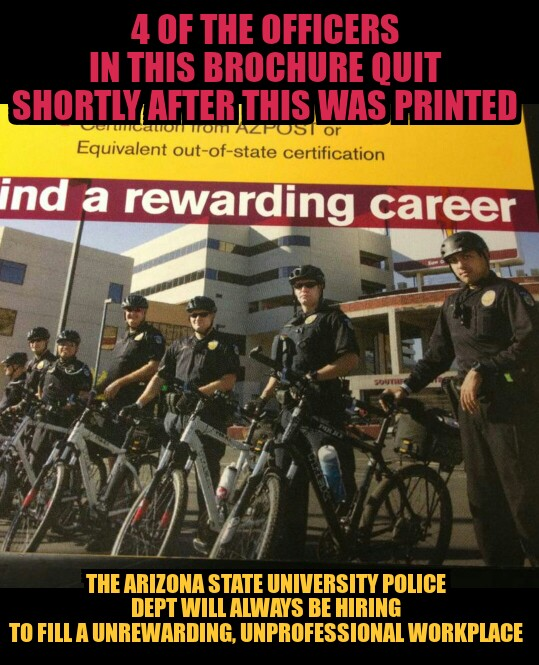 ASU POLICE always hiring